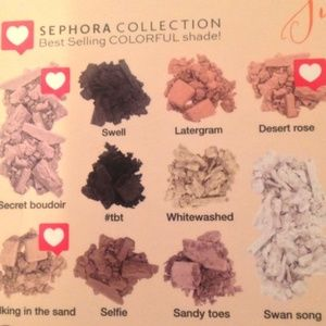 Sephora Makeup - Sephora SUNBLEACHED FILTER SHADOW PALETTE